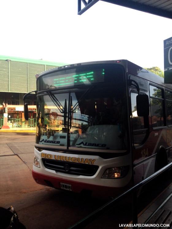 Ônibus de Foz do Iguaçu para Argentina (Puerto Iguazu)