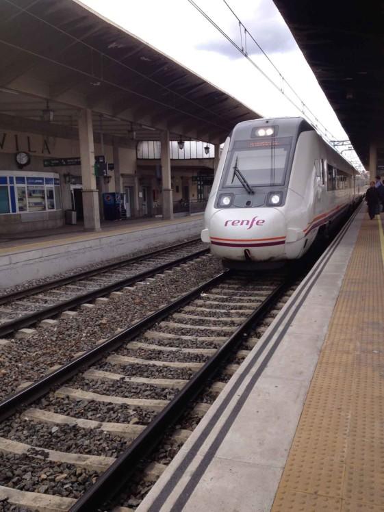 Trem Madri Ávila
