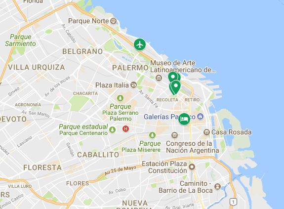 Roteiro de Buenos Aires