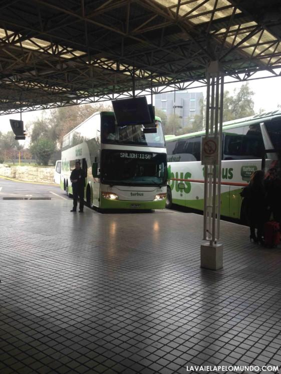 Ônibus Santiago Viña del Mar / Valparaíso