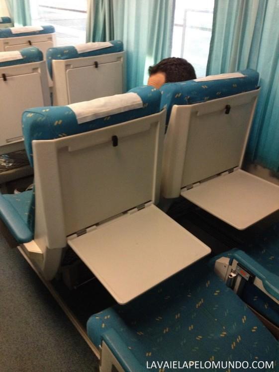 Trem de Lisboa para Madri