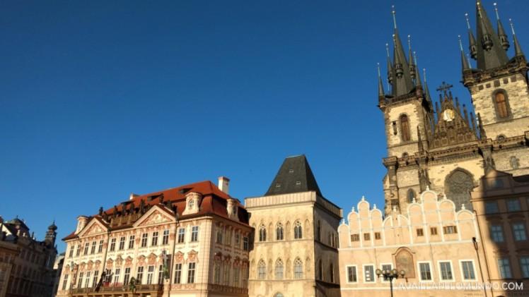Praça da Cidade Velha Praga