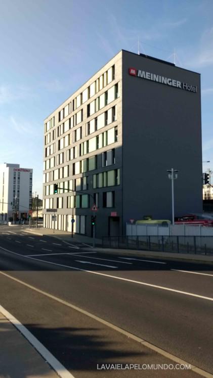 hotel meininger frankfurt