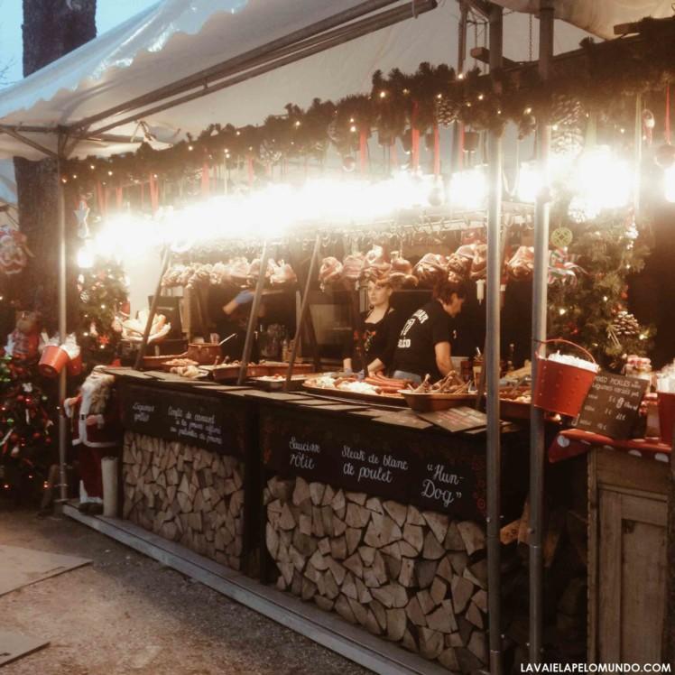 mercado de natal paris