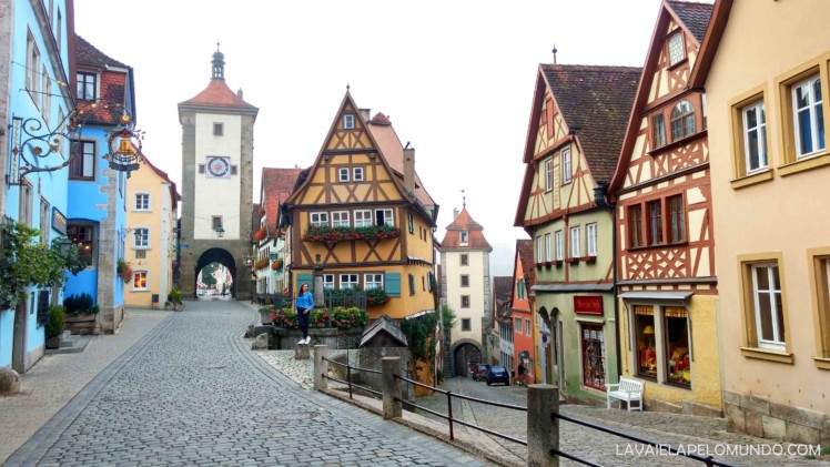 Plönlein Rothenburg Ob der Tauber