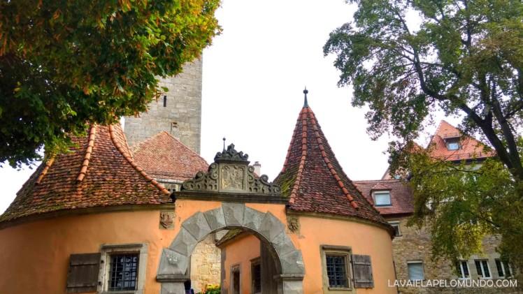 Burgtor Rothenburg Ob der Tauber