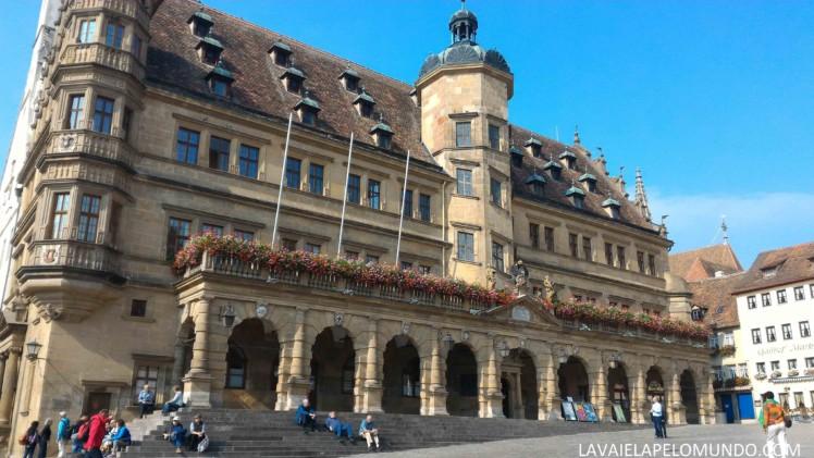 Prédio da Prefeitura Rothenburg Ob der Tauber