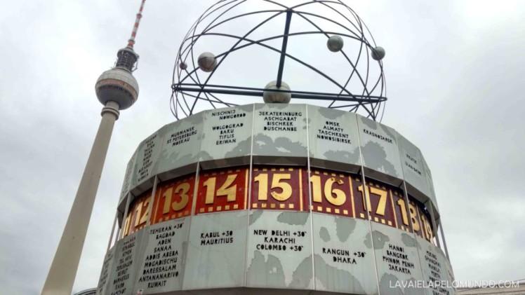 Relógio Berlim