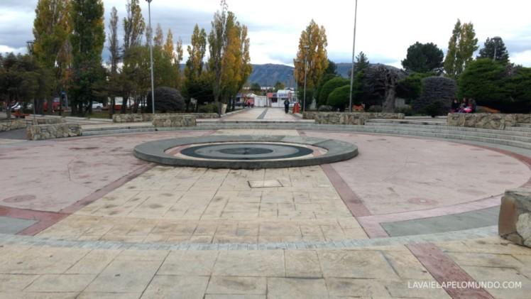 plaza de armas puerto natales