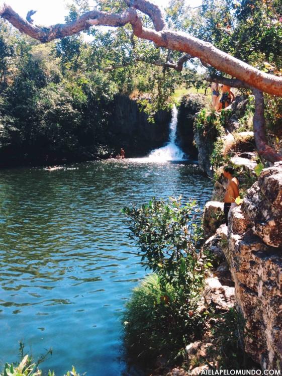 Cachoeiras chapada dos veadeiros