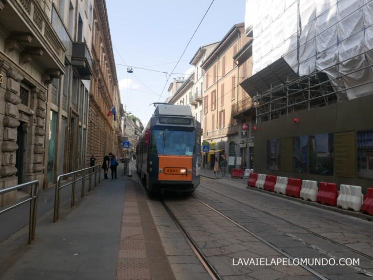 transporte em milão