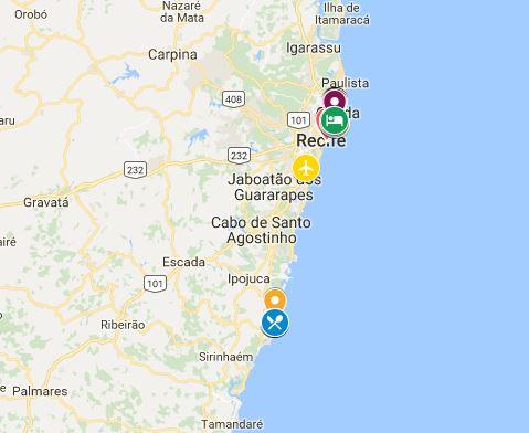Roteiro de Pernambuco