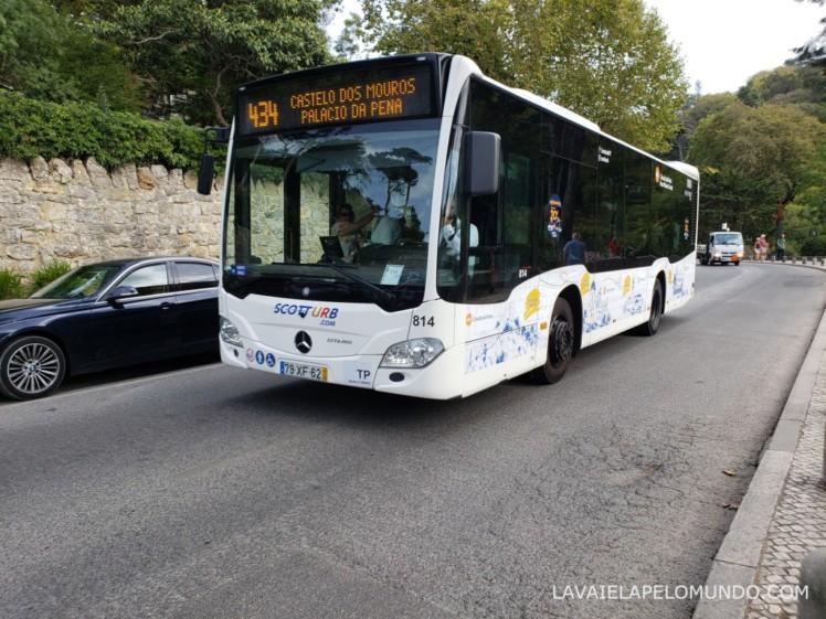 ônibus de cascais para sintra
