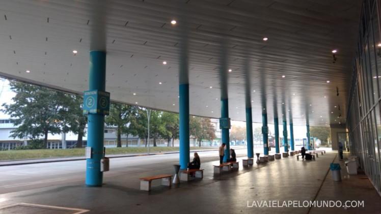 Vienna Busterminal Stadioncenter, Engerthstrasse