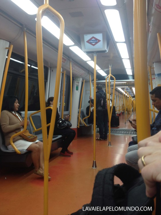 Transporte em Madri