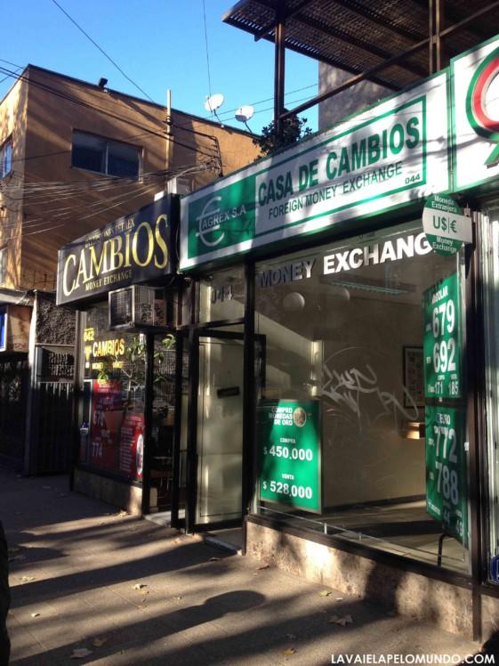 Câmbio em Santiago