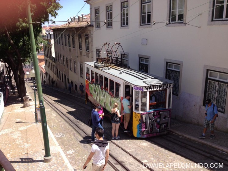 elevador da Glória Lisboa