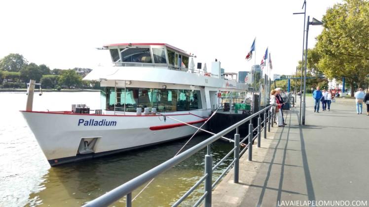 Passeio de Barco Frankfurt
