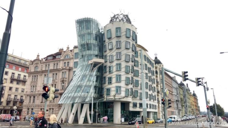 Prédio Dançante Praga