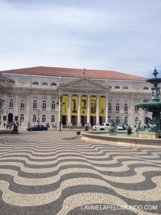 Praça do Rossio Lisboa