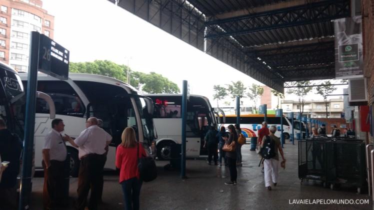 terminais de ônibus no uruguai