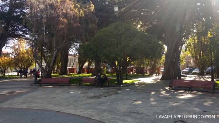 plaza de armas punta arenas chile