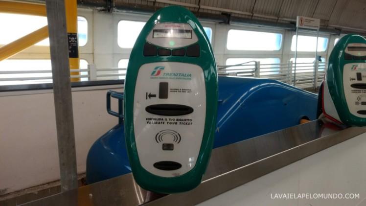 trem de veneza para roma