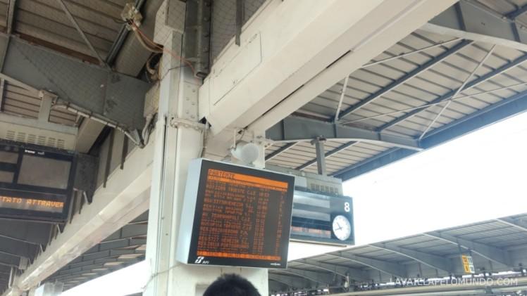 estação de trem veneza mestre