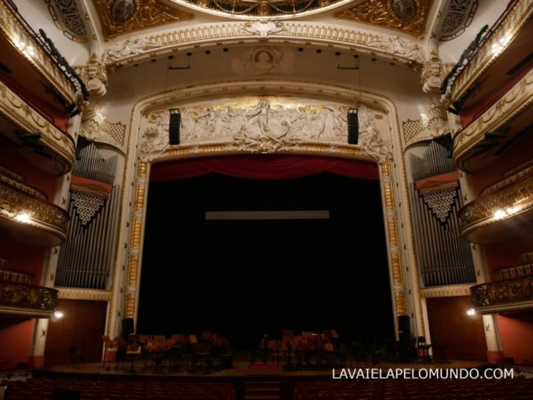 sala de espetaculo do teatro municipal de sao paulo