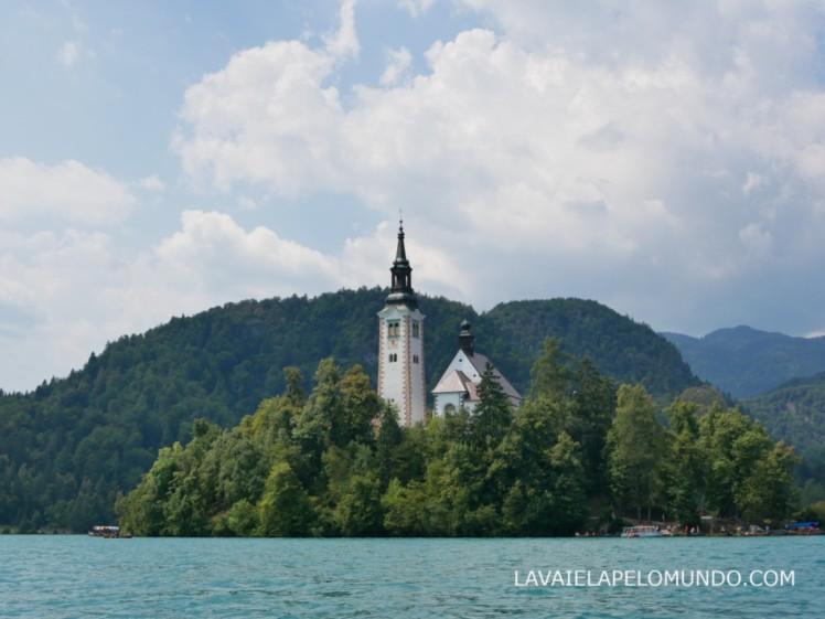 ilha do lago de bled eslovênia