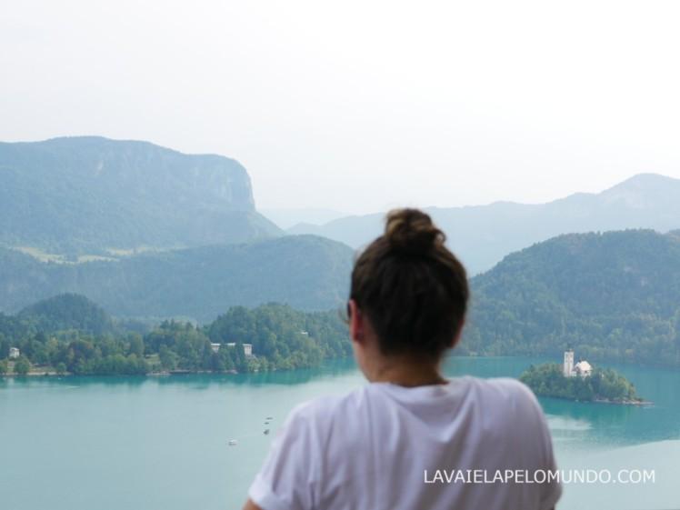 vista do castelo de bled eslovênia