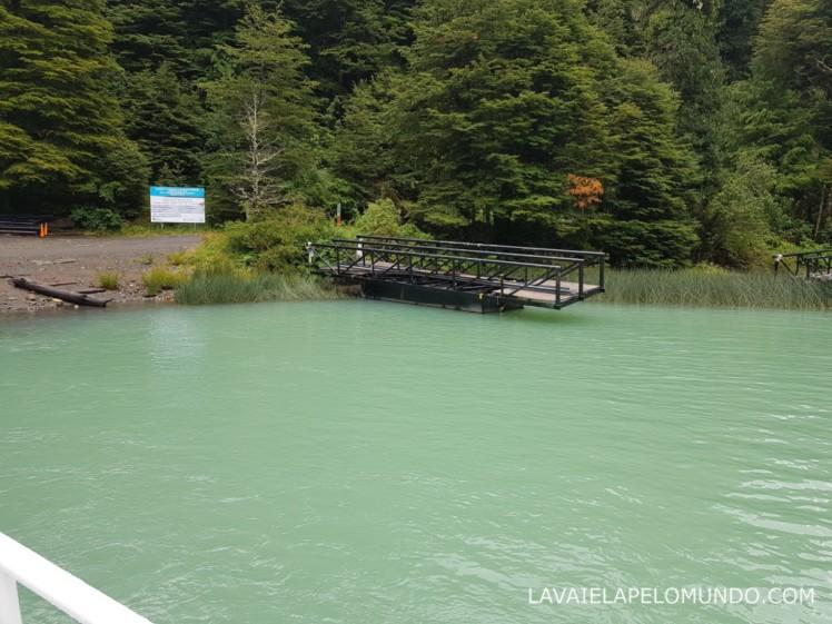 navegação lago frias bariloche