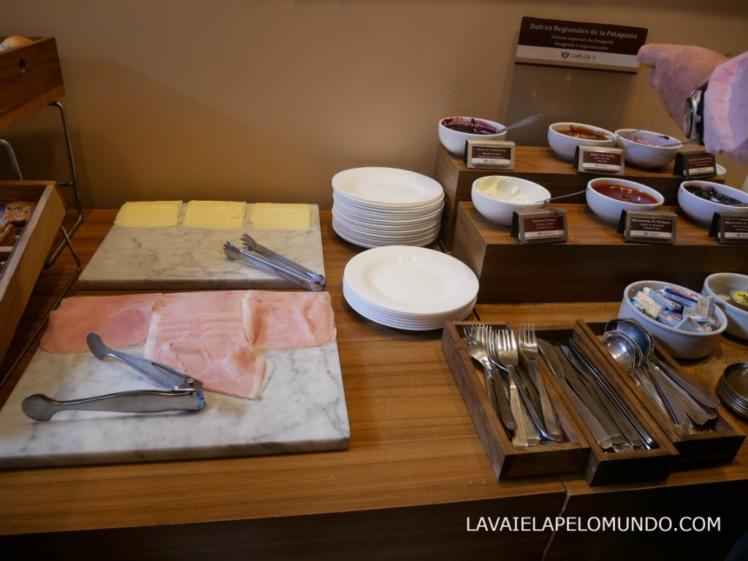 cafe da manha hotel Carlos V Bariloche