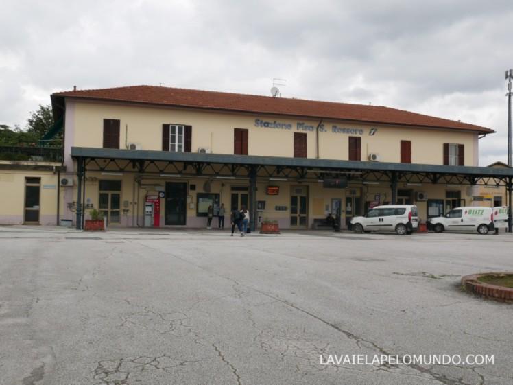 estação de trem rossore pisa