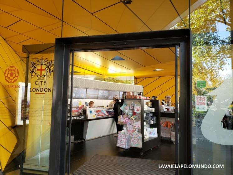 centro de informações turísticas de londres