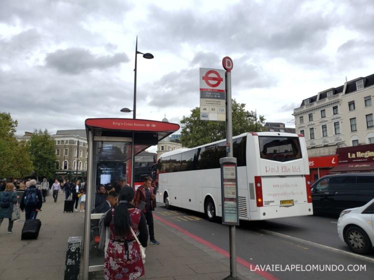 ponto de ônibus londres