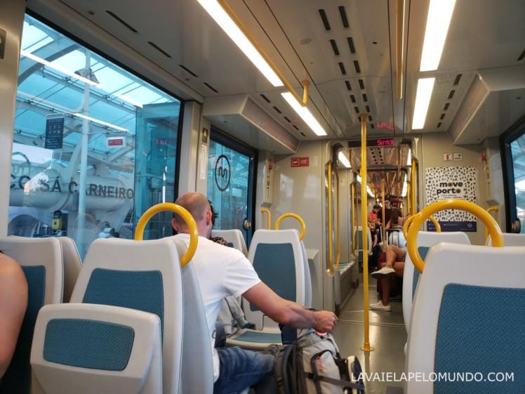 metrô porto portugal