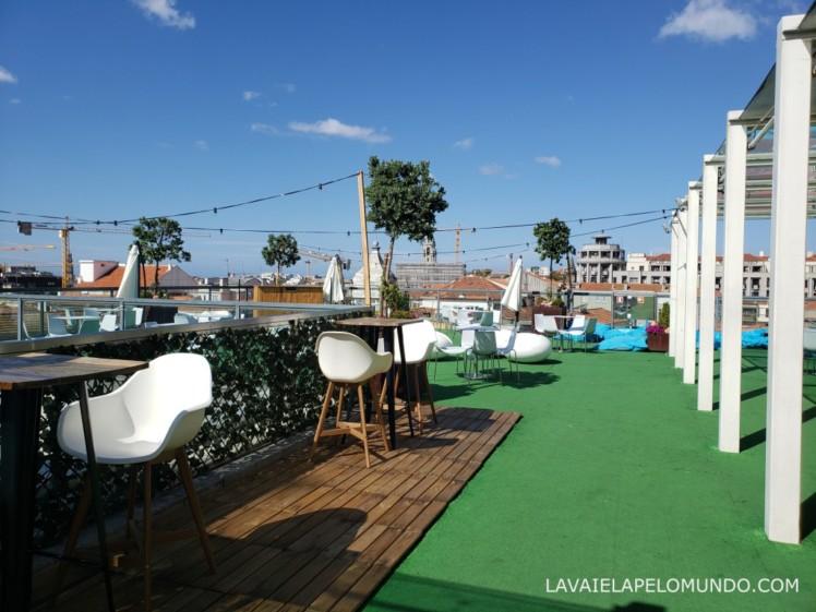 rooftop shopping la vie porto