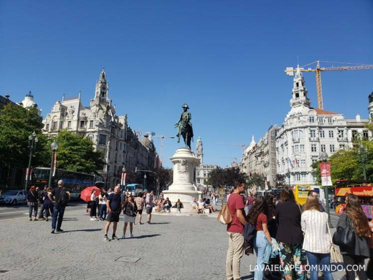 praça da liberdade porto portugal
