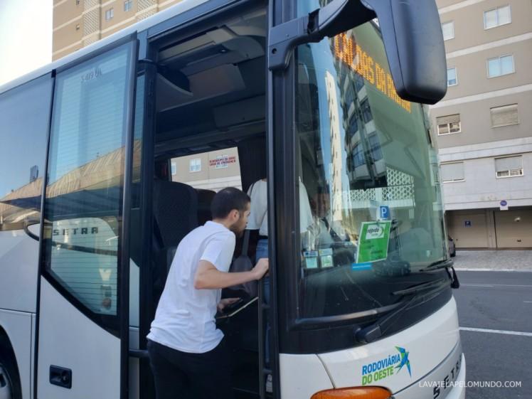 ônibus de lisboa para óbidos