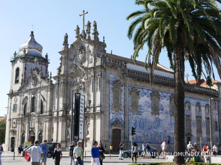 igreja do carmo porto portugal